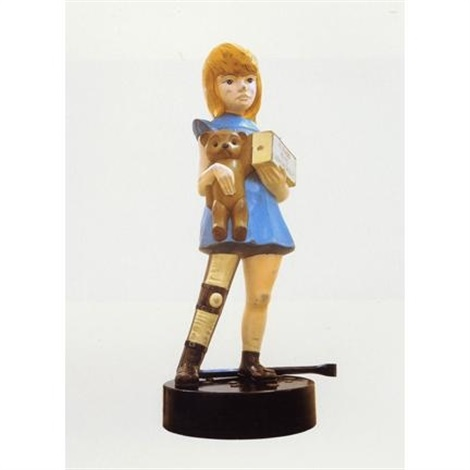 charity (maquette) by damien hirst