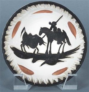 corrida (bullfight) by pablo picasso
