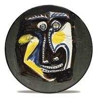 visage no. 46 (face no. 46) by pablo picasso