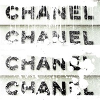 chanel stack (white with diamond dust) by ultravelvet collection