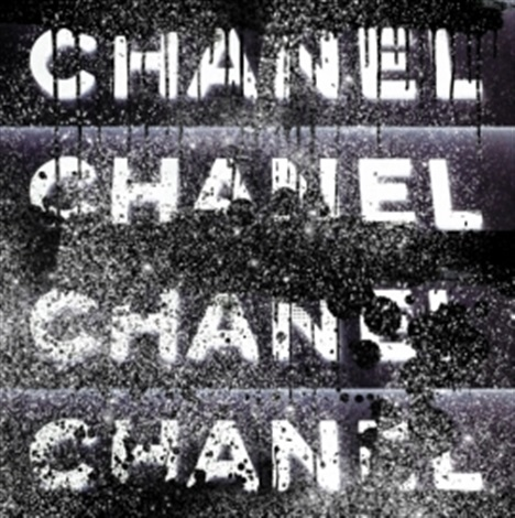 chanel stack (black with diamond dust) by ultravelvet collection