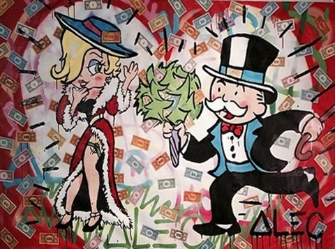 cash petals goldie by alec monopoly