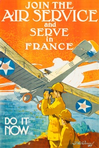 join the air service and serve in france, do it now by j. paul verrees