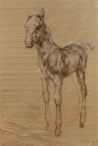 foal by nicola hicks