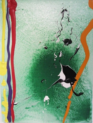 spring bird by john hoyland