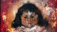 portrait d'enfant by leon schulman gaspard