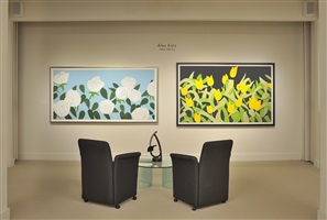 alex katz installation at meyerovich gallery 2014 by alex katz