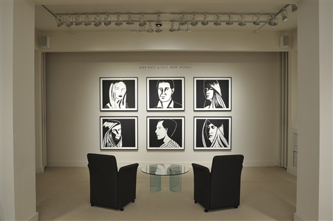 alex katz installation at meyerovich gallery 2013 by alex katz