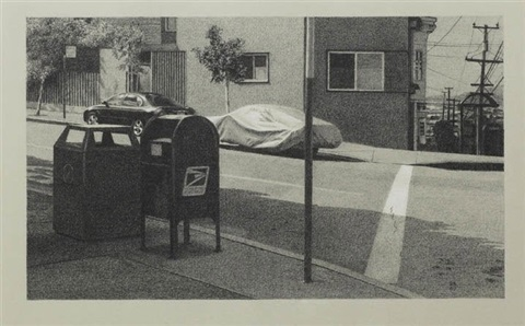 summer in black white group show by robert bechtle