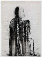veiled shadow ix by jaume plensa