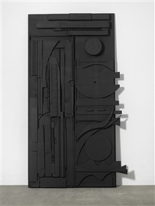 untitled door by louise nevelson