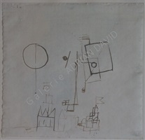 neues in luftbereich by paul klee