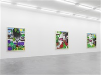 exhibition view iii by carroll dunham