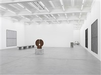 exhibition view iii by valentin carron