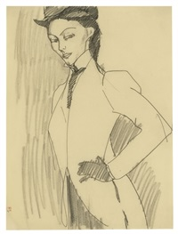 l'amazone by amedeo modigliani