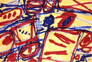 mire g 128 (kowloon) by jean dubuffet