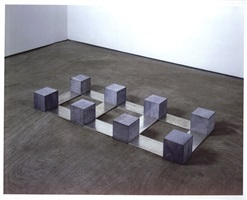 belgica tin triquad by carl andre