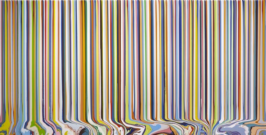 colourcade: white by ian davenport
