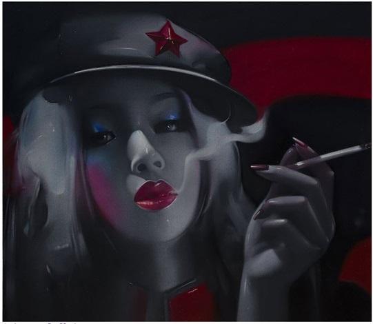 cigarette by lv yanjun