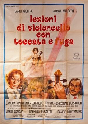 lezioni di violencello con toccata e fuga 1975 by giulia piscitelli