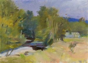 landscape by wolf kahn