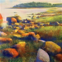 hammonasset evening atmosphere by david allen dunlop