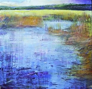 marsh serenity by david allen dunlop