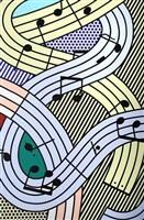 composition #3 by roy lichtenstein