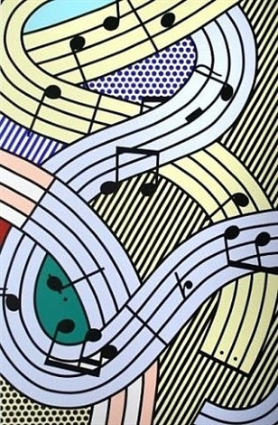 composition #3 by roy lichtenstein