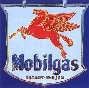 mobil by andy warhol