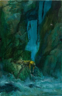fall over cliff by paul lehr