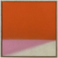untitled (orange/pink) by susan vecsey