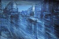 boulevard notturno by alessandro papetti