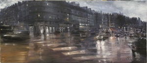 paris notturno by alessandro papetti