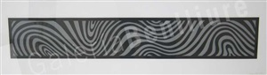 wavy irregular forms nº1 by sol lewitt