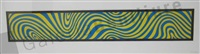 wavy irregular forms nº3 by sol lewitt