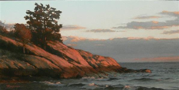 sunset glow by peter bergeron
