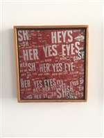 sylvie vartan has yes yes eyes by al (alfred earl) hansen