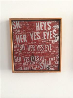 sylvie vartan has yes yes eyes by al (alfred earl) hansen