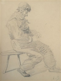 homme by eugène boudin