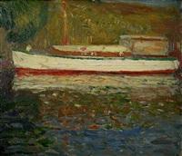 le bateau blanc by gustave de smet