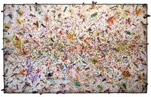 untitled (burnt crayons) by greg haberny