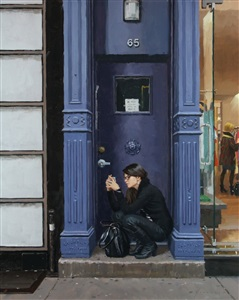 doorway (sold) by vincent giarrano