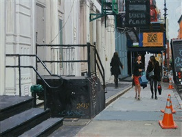 walking on greene street by vincent giarrano
