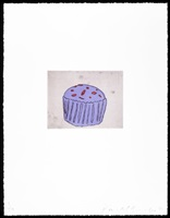 blue muffin by donald baechler