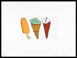 creamsicle + 2 cones by donald baechler