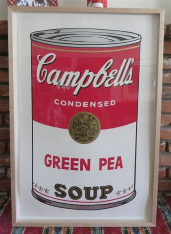 campbell's soup 1: suite of 10 (framed) by andy warhol