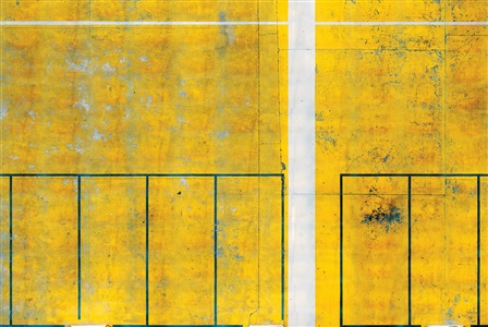 untitled (parking lot 1), paris by andreas gefeller