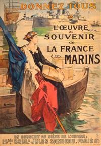 donnez tous a l'oeuvre du souvenir de la france a ses marins by lucien simon