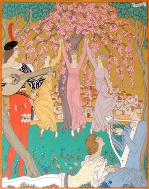 vies imaginaire by george barbier and f.l. schmied